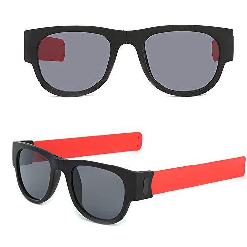 Lenfesh Unisex Sommer Herren Damen Sonnenbrille Kreative Armband Brille Polarisierte Sonnenbrille Fahren Brille Snap Armband