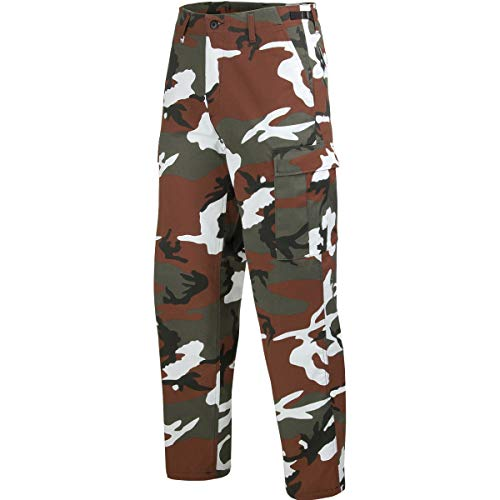 Mil-Tec BDU Ranger combattimento Pantaloni Red Camo taglia M