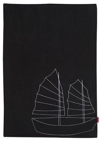 Maclaren ART29042 Couverture pour bébé Hong Kong Noir