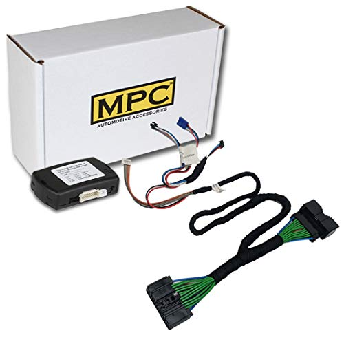 MPC Plug N Play Remote Starter for 2015-2019 Ford F-150 |Gas| |Key to Start| with T-Harness OEM Key Fob Activated | 5 Minute Install