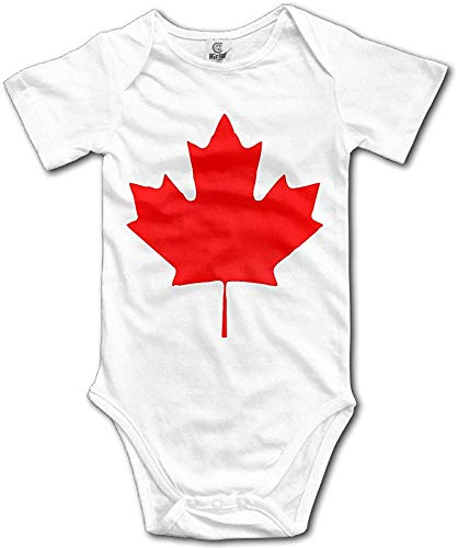 ngmaoyouxis Canada Maple Leaf Canadian Flag Vintage Baby Onesies