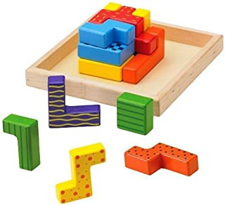 The Original Toy Company WHAT' Zit Wooden Puzzle Game