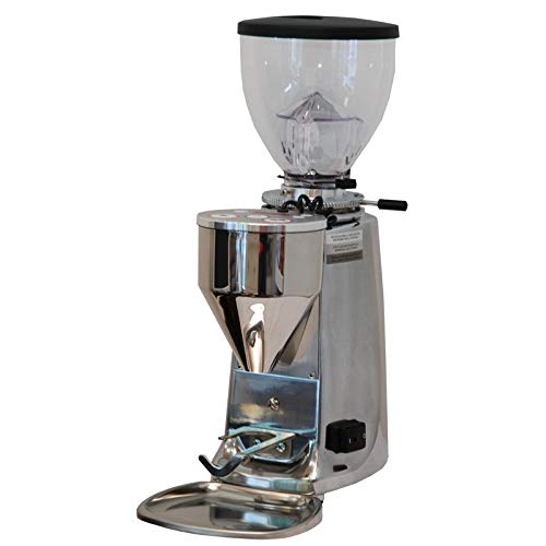 Mazzer Kaffeemühle for mini elektronic AAluminium hochglanzpoliert / chrom