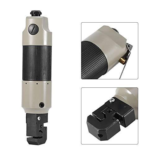 Pneumatisch ponsflensgereedschap 5 mm gat voor plastic metaalboren Ponsen Opvouwbare luchtponsflensgereedschap