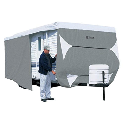 Classic Accessories Over Drive PolyPRO3 Deluxe Travel Trailer Cover or Toy Hauler Cover,...