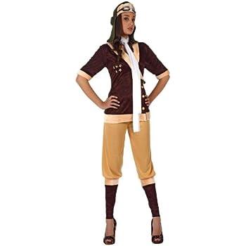 Atosa - Disfraz de aviador para mujer, talla XL (12061): Amazon.es ...