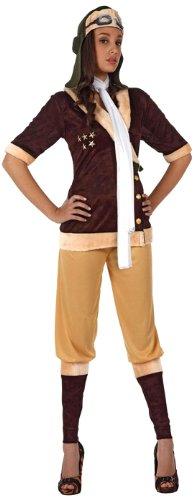 Atosa - Disfraz de aviador para mujer, talla XL (12061)