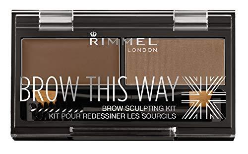 Rimmel London Brow This Way Augenbrauenpuder-Modellierset, gepflegtes Finish und ultimative...