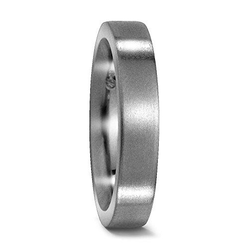 Partnerring Titan, Marke: TitanFactory, Oberfläche: mattiert, Ringbreite: 4 mm Grösse 58