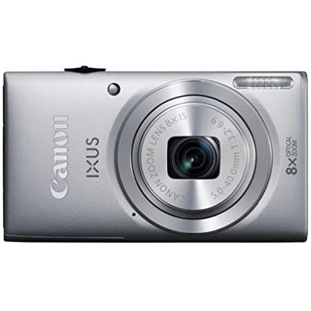 Canon Ixus 132 Digitalkamera 2 7 Zoll Silber Kamera