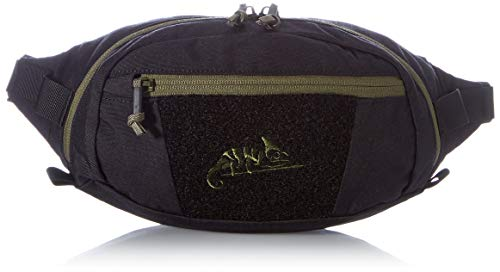 Helikon -Tex Bandicoot Waist Pack Sac Banane – Cordura – Noir/Olive, Taille Unique