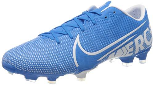 Nike Vapor 13 Academy Fg/MG, Football Shoe Mens, Blue Hero/White-Obsidian, 42 EU