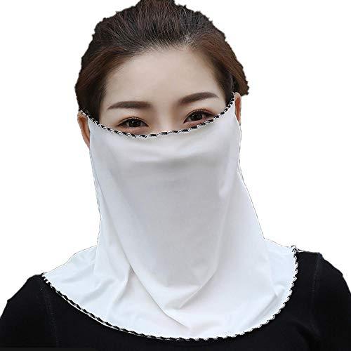 Anwasd7 Sjaal Vrouwen Zomer Ijs Zonnebrandcrème Outdoor Rijden Nek Guard Rijden Sunshade Lady Anti-Ultraviolet Sjaal Snowboard
