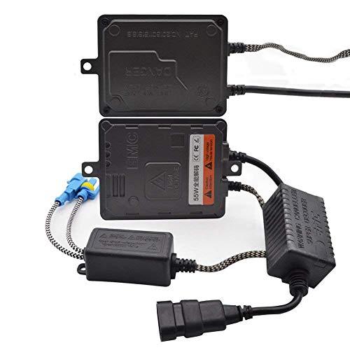 Safego Paar 55W Hid Vorschaltgeräte HID Xenon Ballast Ultra Schnell Ersatz Nicht Canbus