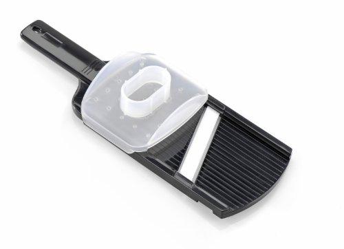 Gefu 50400 - Rallador de cerámica, Color Negro