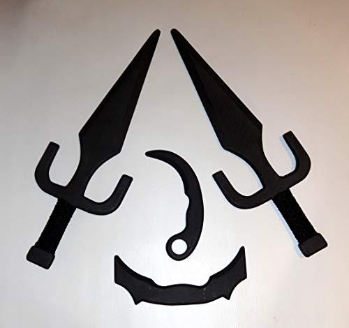 2 Karambit Trisula Cabang Pair Pencak Silat Training Sai Martial Arts Supply