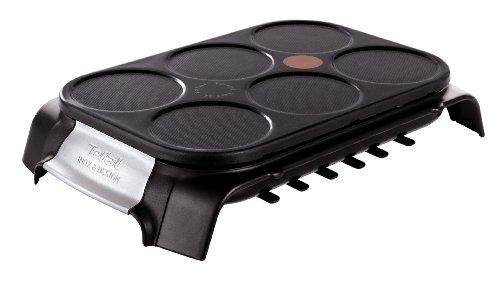 Tefal Crep Party Inox & Design PY558813 - Crepera de Acero Inoxidable...