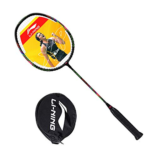 Li-Ning XP 2020 Special Edition (AYPQ156-5) Blend Strung Badminton Racquet (Black) With Free Head Cover