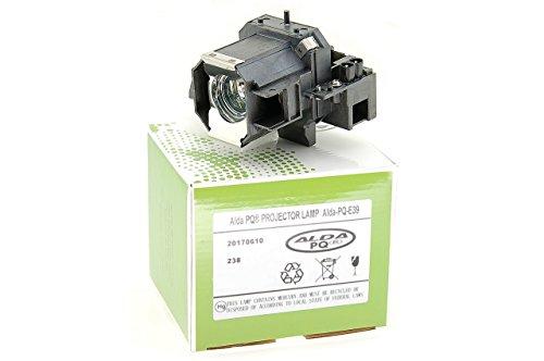 Alda PQ-Premium, Beamerlampe / Ersatzlampe für EPSON TW700 Projektoren, Lampe mit Gehäuse