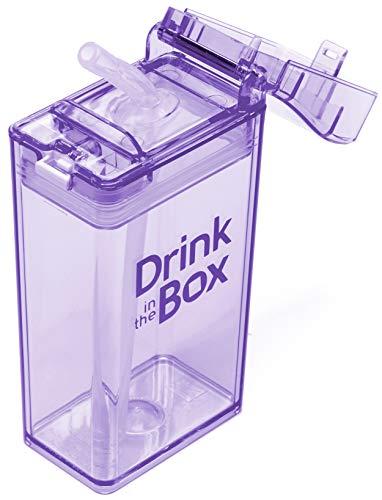 Drink in die Box Trinkbecher, orangefarben