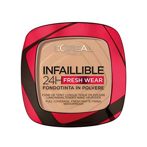 L'Oréal Paris Polvos Compactos Mate Infalible 24h, Larga Duración, Cobertura