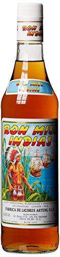 Ron Miel Indias , Honig Rum Likör, Kanarische Inseln (1 x 0.7 l)