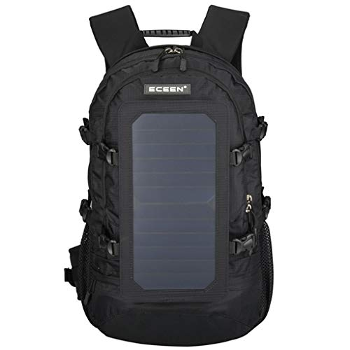 Find Discount Zpyh Outdoor Solar Backpack, 40L 6.5W Solar Backpack Climbing Outing USB Charging Lapt...