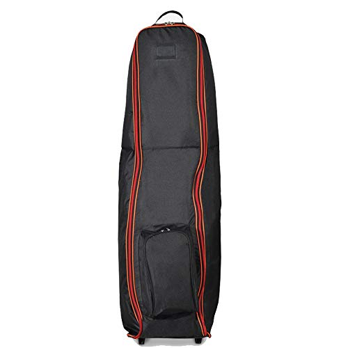 WyaengHai Golf Airbag Golftasche, Tragetasche für Golfschläger, Golfschläger, Reisetasche, Nylon, gelb, 128X46x37cm
