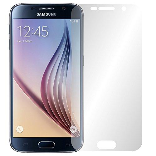 Slabo 4 x Displayschutzfolie für Samsung Galaxy S6 Mini Displayfolie Schutzfolie Folie Zubehör No Reflexion MATT
