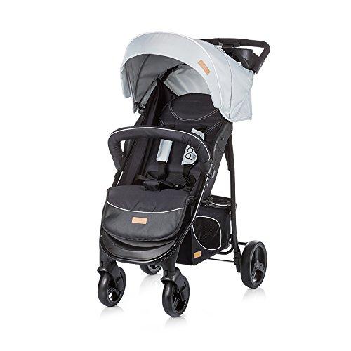 Chipolino Poussette bébé Ensemble de Passo, Beige 2 en 1 avec siège auto 0 +