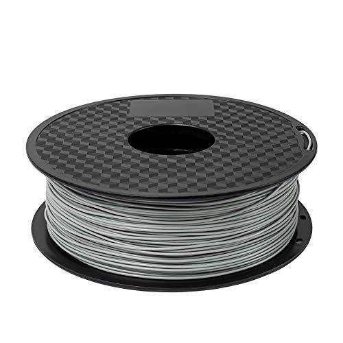 Creality 3D PLA Filamento 1.75mm 1KG Bobina per stampante 3D - Grigio