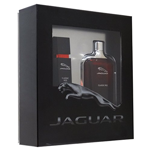 Jaguar Classic Red Geschenkset 100ml EDT + 15ml EDT Reisespray