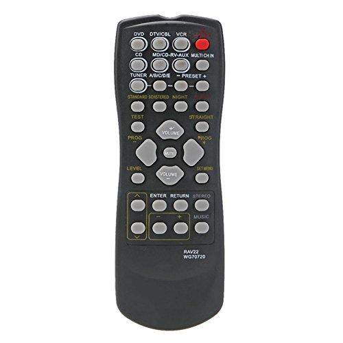 Reemplazo de Control Remoto RAV22 para Yamaha CD DVD RX-V350 RX-V357 RX-V359