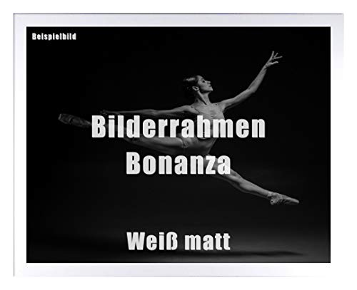 Homedecoratie fotolijst Bonanza acrylglas antireflex 2 mm 60 x 85 cm wit mat
