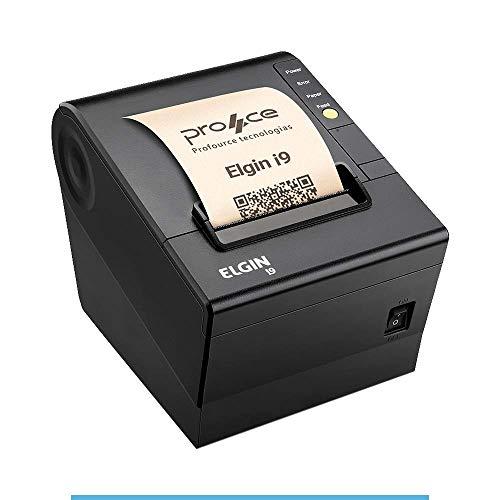 Impressora Nao Fiscal USB com Guilhotina I9 Preta ELGIN