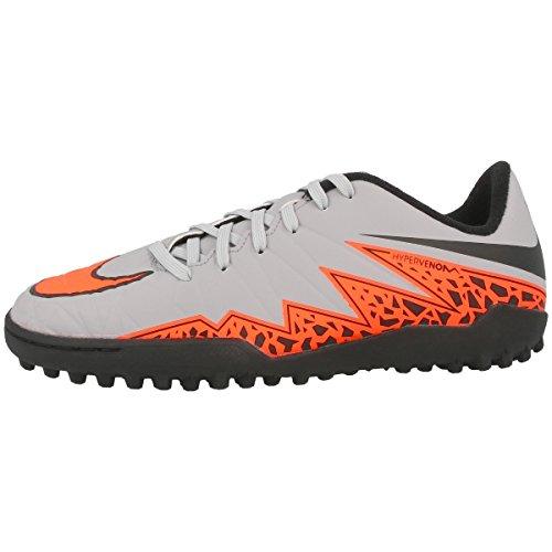 Nike JR Hypervenom Phelon II TF Wolf Grey/TOTAL ORANGE-BLK-BLK - 35,5