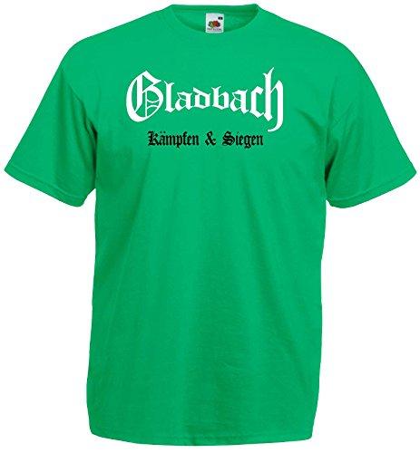 Gladbach Herren T-Shirt kämpfen und Siegen Ultras|wz