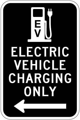 STOPSignsAndMore - Electric Vehicle Charging NEW shopping before selling Ar Sign Only Left