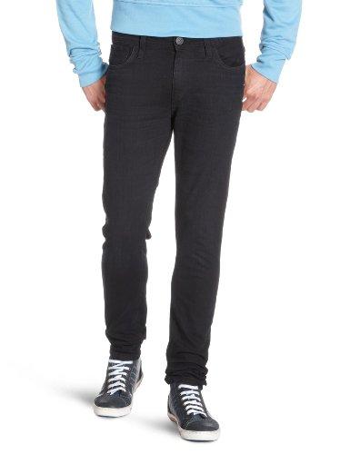 JACK & JONES Herren Ben Original Skinny Jeans, Black (Sc 745), 32W / 34L