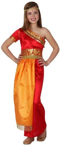 Atosa 8422259158431 - Disfraz hindu para niña, talla 140