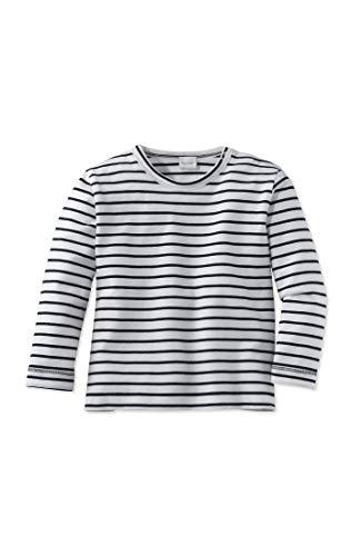 hessnatur Baby Mädchen und Jungen Unisex Shirt aus Reiner Bio-Baumwolle dunkelblau 98/104
