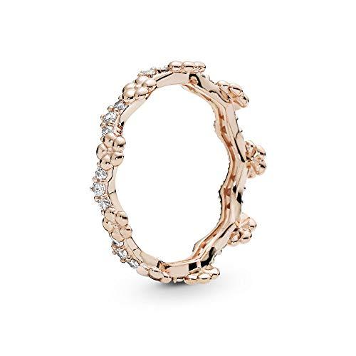Pandora Damen-Ringe 925 Sterlingsilber zirkonia '- Ringgröße 52 187924CZ-52