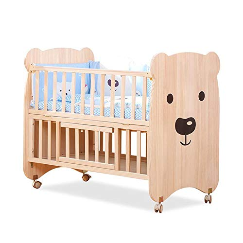XY kinderbetten Kinderzimmermöbel Set | Kinderbett Und Abstellraum | Massivholzmöbel (Holzfarbe) (Color : Wood color)