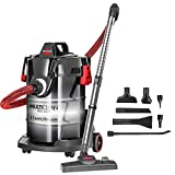 Bissell, Red, MultiClean Wet/Dry Garage and Auto Vacuum Cleaner, 2035M