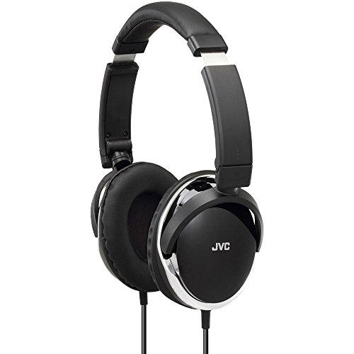 JVC High-Quality Over-Ear Audio Headphones with Dynamic Sound - Black