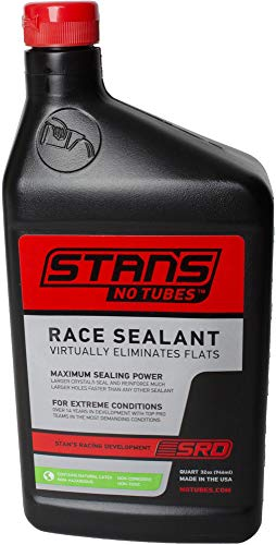 Notubes Reifendichtmittel Race 32oz, 946ml 1 Quart konvertiert bis zu 16 Reifen, ST0070 Laufräder, schwarz