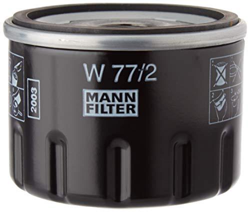 MANN-FILTER Original Ölfilter W 77/2 – Für PKW und Nutzfahrzeuge