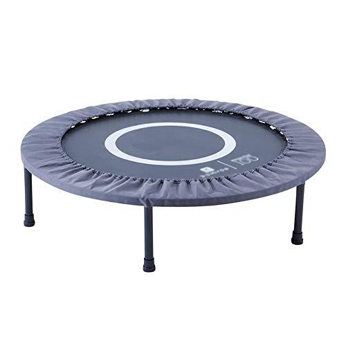 Indoortrampoline Fitness-Trampolin, 80 cm Sprungfläche, leistungsstark bis 80 kg Benutzergewicht, Schwarz Indoortrampolin, Fitness und Ausdauertraining
