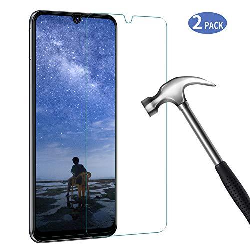 Bigmeda Panzerglas für Samsung Galaxy A40, [2 Stück] HD Panzerglasfolie 9H Härte, Anti-Kratzen Schutzfolie für Galaxy A40 Folie