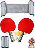 Van Allen Set Ping Pong Deluxe - Rojo